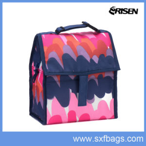 Custom Large Reusable Insulated Hot and Cold Food Cooler Bag pictures & photos