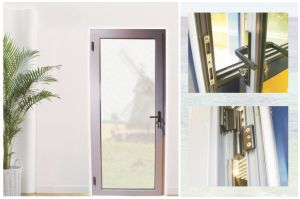 Aluminium Swing Bedroom Handle Door pictures & photos