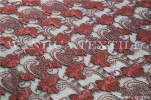 Crochet Fashion Wedding Embroidery Lace Fabric (AYX009)
