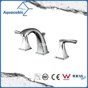 Wash Basin 3 Hole Bathroom Sink Faucet Af8032 6