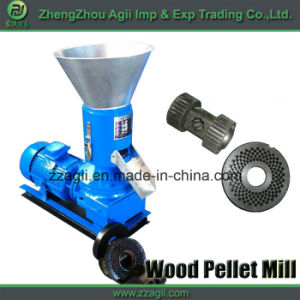Agii Small Flat Die Rice Husk Pellet Mill Hard Wood Pellet Machine pictures & photos