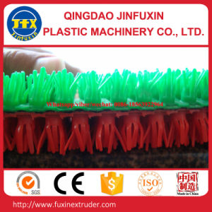 Plastic Artificial Grass Mat Making Machine pictures & photos
