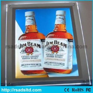 Ce Quality LED Crystal Light Box pictures & photos