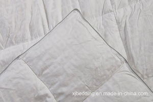Pure Cotton Dobby Fabric Duck Down Duvet by Hangzhou Factory pictures & photos
