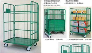 Strong and Durable Metal Logistics Trolley pictures & photos