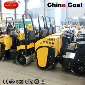 1t Ride on Full Hydraulic Construction Vibratory Compactor Road Roller pictures & photos