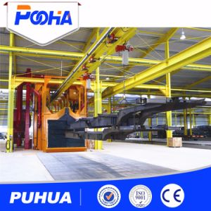 Ce Approved Overhead Chain Through Type Shot Blasting Machine pictures & photos