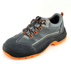 Sport Style Suede Leather Lightweight Safety Toe Work Shoes Ce pictures & photos
