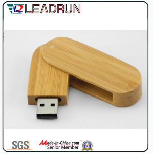 Wooden Bamboo USB Flash Stick Memory Drive Key Disk Box (YLH205) pictures & photos