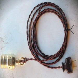 Vintage Style Lamp Electric Wire (UL) pictures & photos