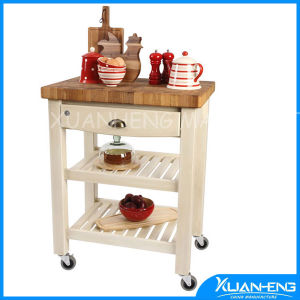 New Brand Bamboo Kyoto Kitchen Trolley Good Quality Multi Funtion pictures & photos
