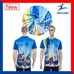 Dye Sublimation T-Shirts Printed T-Shirt pictures & photos