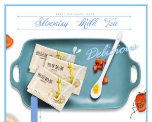 Instant Natural Diet Milk Tea for Slimming Body pictures & photos