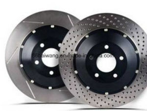 Drilled & Slotted Works & Modified Brake Rotor Discs pictures & photos