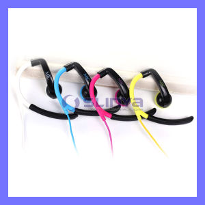 Ear Hook Headphone with Mic Earphone for Smartphone Samsung HTC iPhone Headset pictures & photos