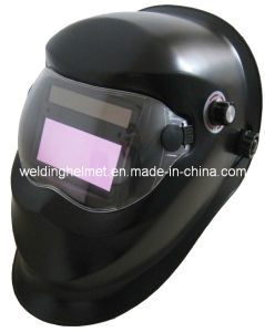 AAA Changeable Battery/92*35 Mm/Grinding Mode Welding Helmet (W1190DS) pictures & photos