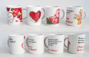Porcelain Ceramic Cheap Gift Mug for Mother′s Day (7102-006) pictures & photos