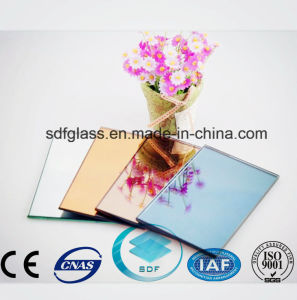 Tinted Float Glass Silver Mirror with Ce, ISO