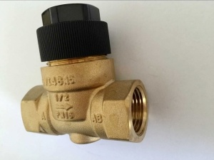 Brass 2 Way Linear Mixing Valve