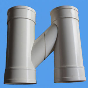 High Quality PVC H Type Drainage Pipe Fittings pictures & photos