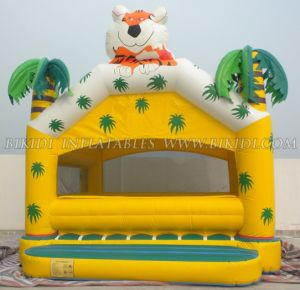 Inflatable Clown Bouncer, Inflatable Jumper, Jungle Bouncy House (B1146) pictures & photos