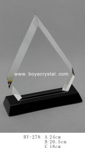 High Quality Crystal Trophies Awards (BY278)