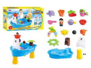 Kids Table Pirate Beach Toy Set Water and Sand Play Toy pictures & photos