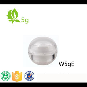5g Mini Colorful Ball Shape Plastic Cream Jar for Cosmetic Packaging pictures & photos