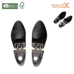Luxury Black Matt Wooden Shoe Trees for Footwear Collection pictures & photos
