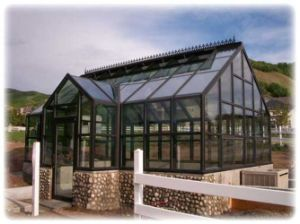 Garden House with Double Glazing and Aluminium Alloy Structure (TS-609) pictures & photos
