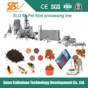 Stainless Steel Twin Screw Pet Food Extruder pictures & photos