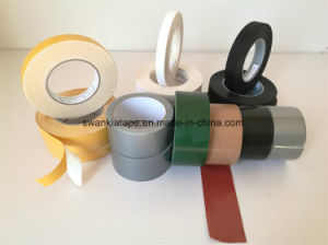 Double Sided Duct Adhesive Tape with White Spun/Cloth Duct Tape pictures & photos