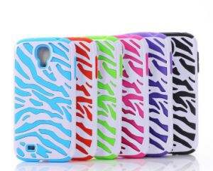 Galaxy Note 3 Case Hybrid High Bumper Hard Zebra Pattern Silicone Case Cover for Samsung