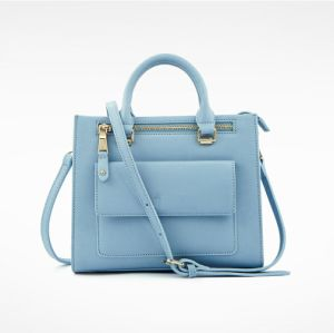 Designer Cross Pattern PU Leather Ladies Handbag Women Business Bag pictures & photos