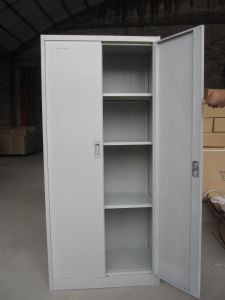 Office Metal 2 Door File Storage Cupboard with 4 Adjustable Shelf pictures & photos
