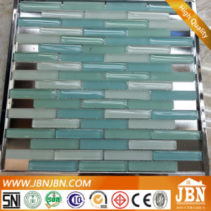Light Blue and Green Wall Decoration Crystal Glass Mosaic (G857003) pictures & photos