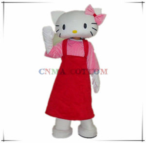 Most Popular Cartoon Character Costume Hello Kitty Mascot