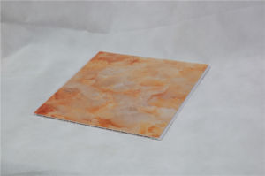 6*300mm Marble Design PVC Ceiling Panel for Interior Decoration pictures & photos