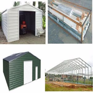 Prefabricated Independent Steel Structureal Garage pictures & photos
