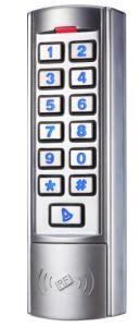 New Silver Metal Vandal-Proof Door Access Control pictures & photos