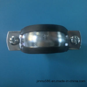 Pipe Clamp with Rubber (1′′) pictures & photos