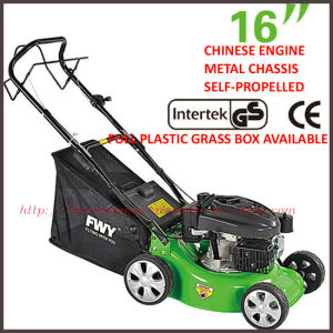 "EPA/GS/EMC/CE Approved 3.5HP 123cc 16"" Self-Propelled Gasoline Lawn Mower (XYM158-2C)"