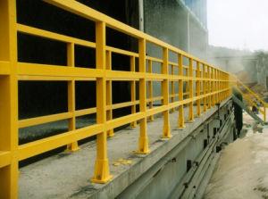 Fiberglass Square Tube Railings /Fiberglass Railing /Pultrusion Handrail pictures & photos