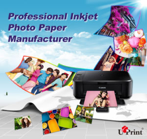 Factory Sell High Quality Wide Format Inkjet Photo Paper Roll Digital Printing Media pictures & photos