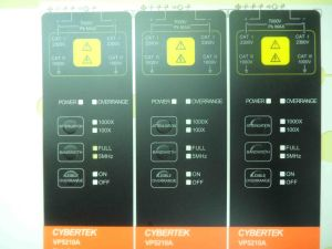 LED Switch Overlay Switch Overlay Membrane Panel Membrane Keypad Graphic Overlay pictures & photos