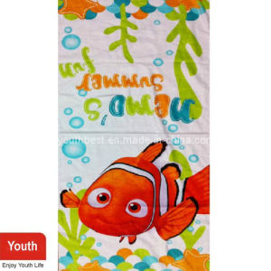 Little Fishes Beach Towel with Nice Pattern