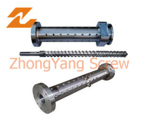 Extruder Single Screw and Barrel for Pipe Extruder pictures & photos