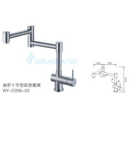 Modern Stainless Steel Kitchen Water Faucet with CSA Certificate pictures & photos