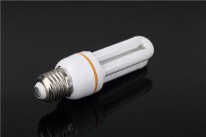 Tri-Color 9W 11W 15W U-Shapel Energy Saver Lamp pictures & photos