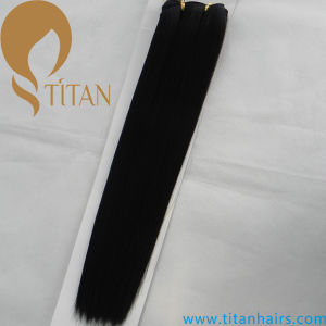 Wholesale Price Synthetic Hair Extension Synthetic Hair Weft pictures & photos